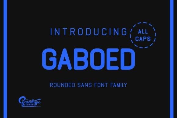 gaboed-sans-font-family