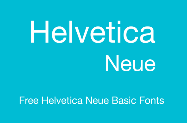 Helvetica Neue Font Free Alternatives