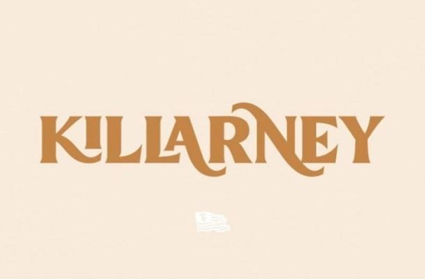 Killarney Vintage Display Font
