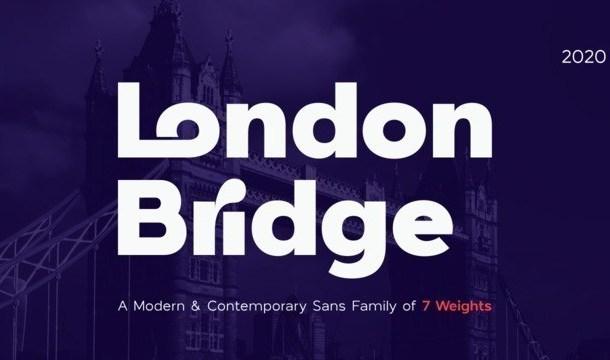 London Bridge Sans Font