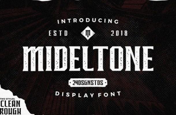mideltone-font-1
