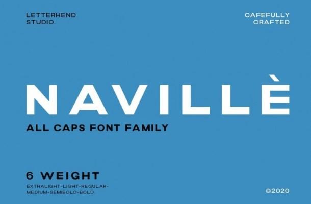 Navillè Sans Font Family