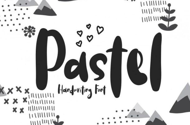 Pastel Handwriting Font
