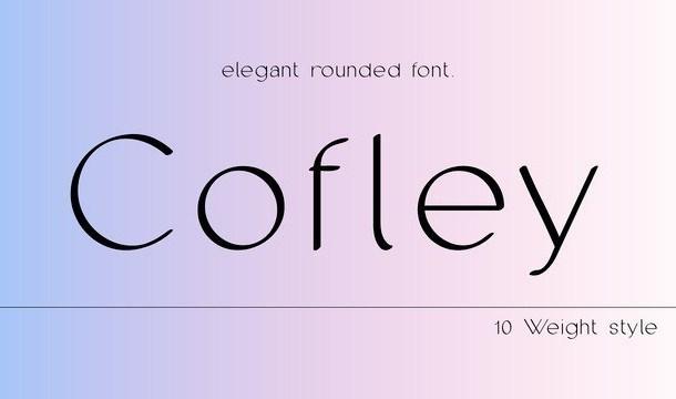 Cofley Sans Serif Font Family