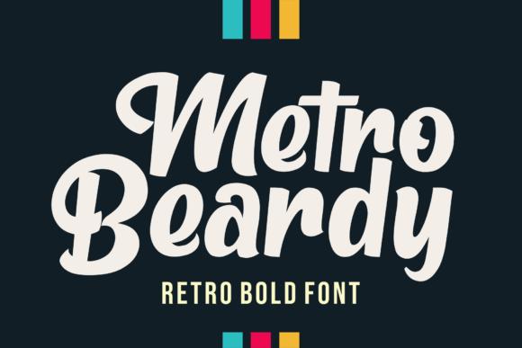Metro-Beardy-Script-Font-1