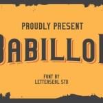 Deluxe Serif Font