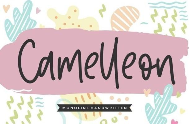 Camelleon Handwritten Font
