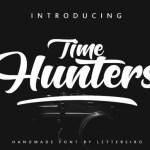 Hunters Bold Script Font
