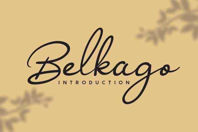 Belkago-Handwritten-Font-1