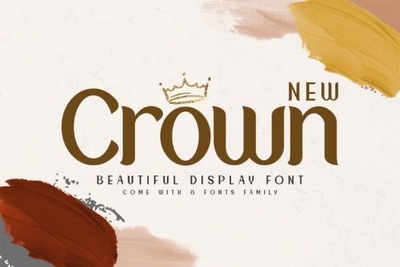 New Crown Sans Display Font