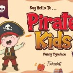 Pirate Kids Cartoon Font