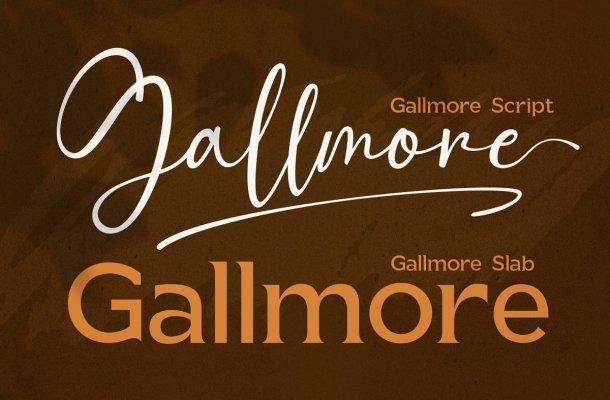 Gallmore Font Duo