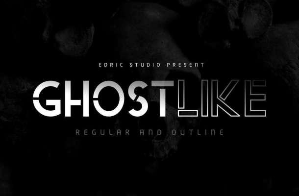 Ghostlike Sans Serif Font