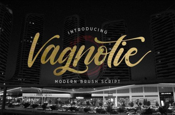 Vagnotie Modern Script Font