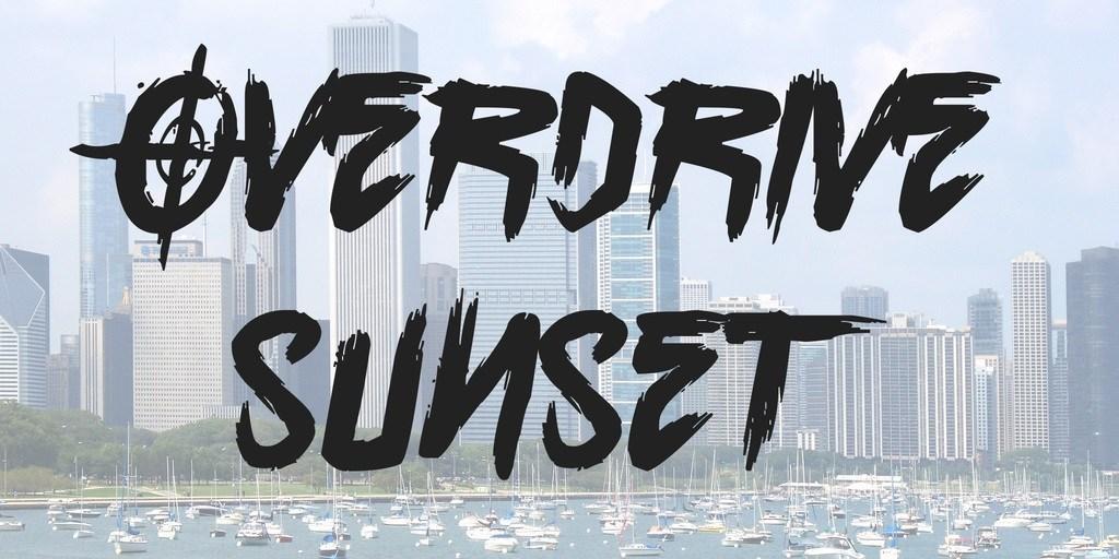 Overdrive-Sunset-Brush-Font-1
