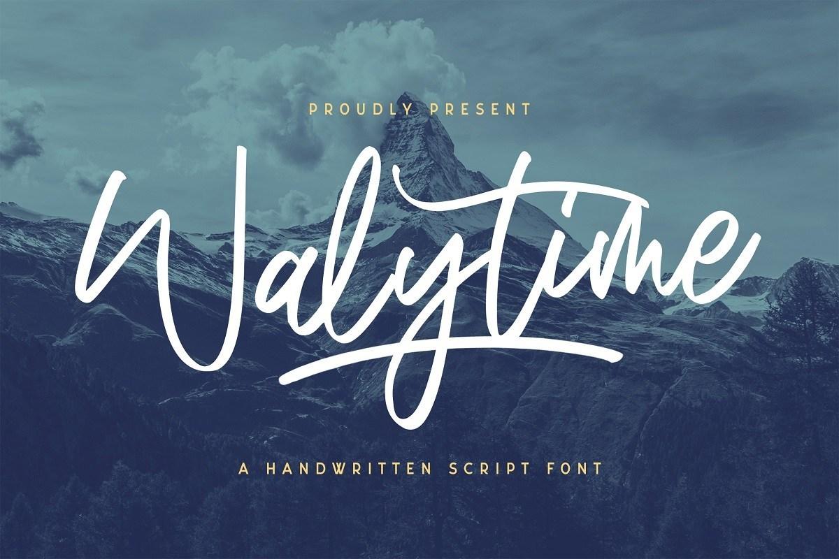 Walytime-Handwritten-Script-Font-1