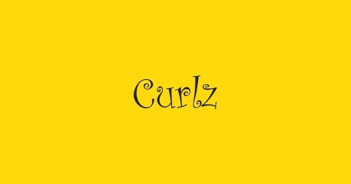 CURLZ MT REGULAR FONT