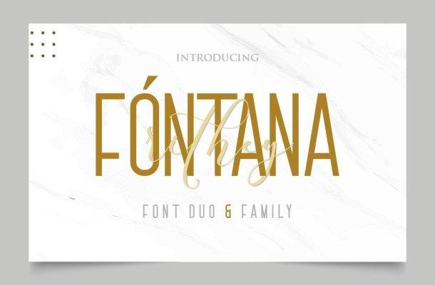 Fóntana Modern Simple Sans Font