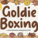 Goldie Boxing Bold Script Font