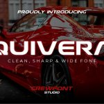 Quivera Modern Display Font