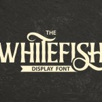 Whitefish Serif Display Font