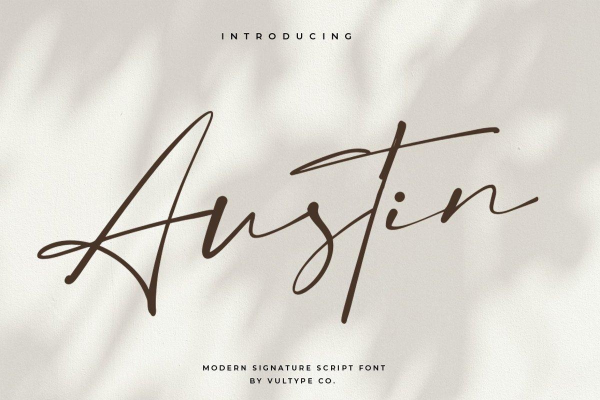 Austin-Signature-Script-Font