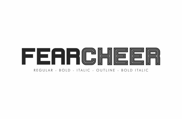 Fearcheer Sans Display Font Family