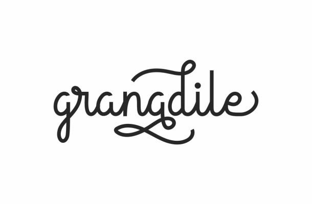 Granadile Handwriting Monoline Script Font