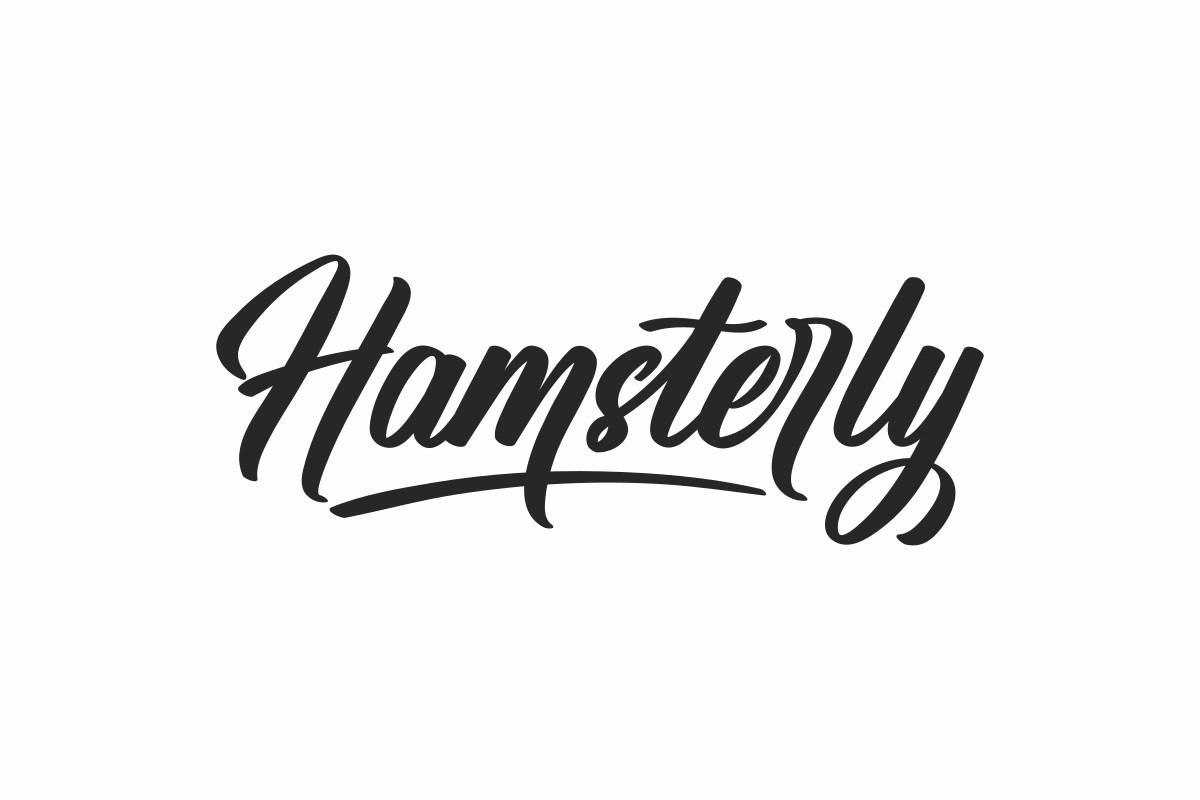 Hamsterly-Script-Font