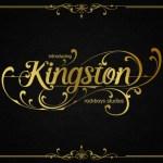 Kingston Modern Blackletter Font
