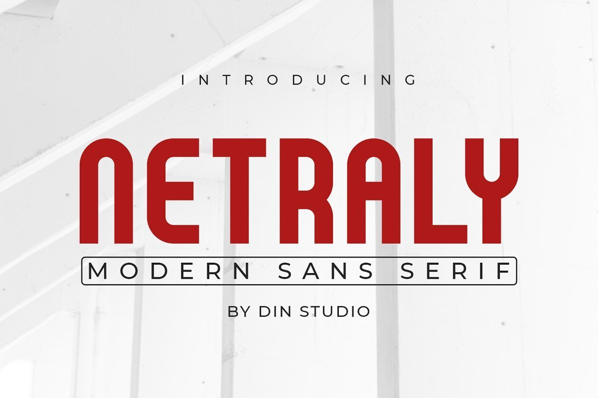 Netraly-Modern-Sans-Serif-Font