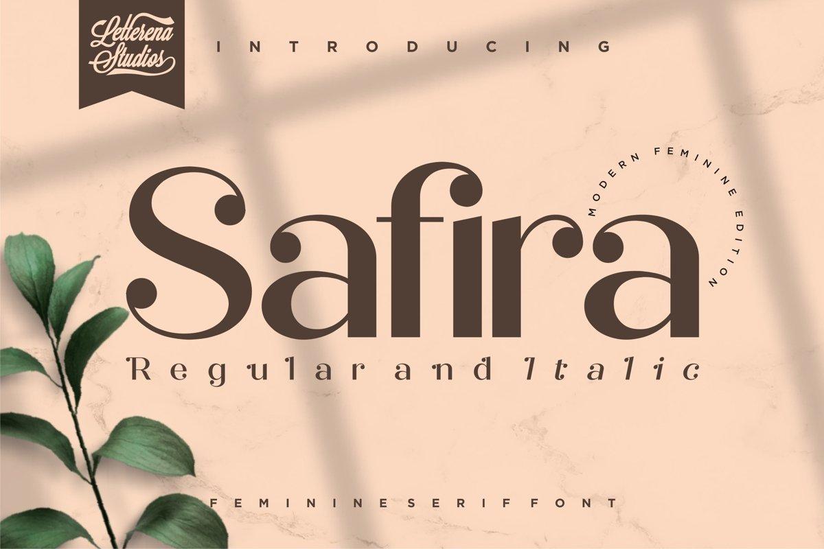 Safira-Modern-Feminine-Serif-Font
