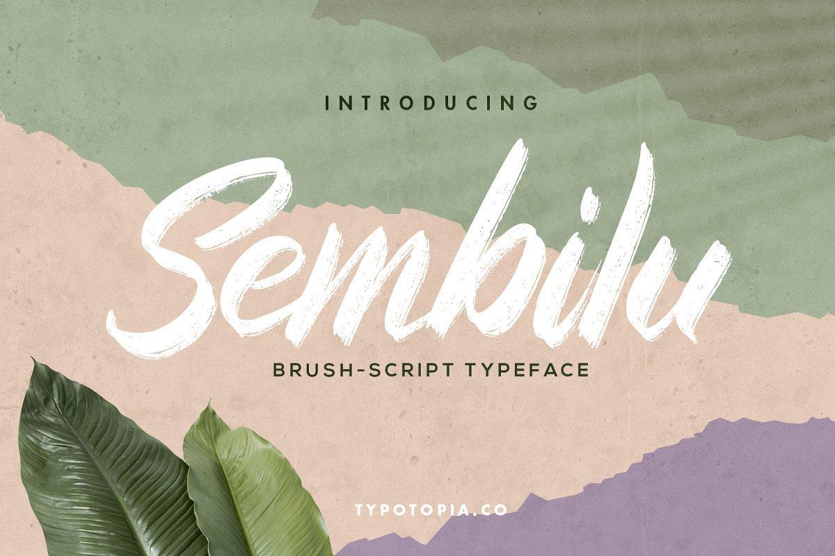 Sembilu-Brush-Script-Typeface