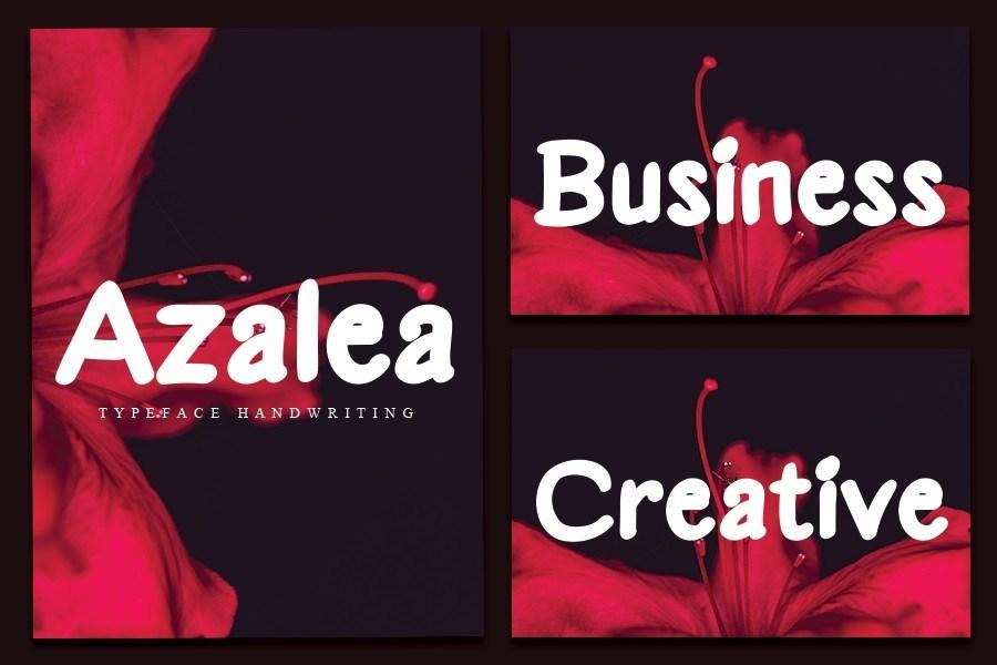 Azalea-Font-2