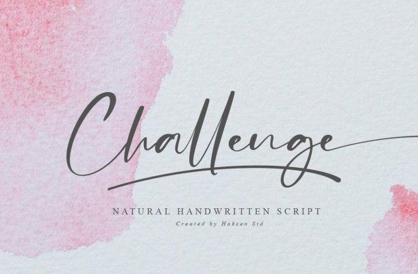 Challenge Font