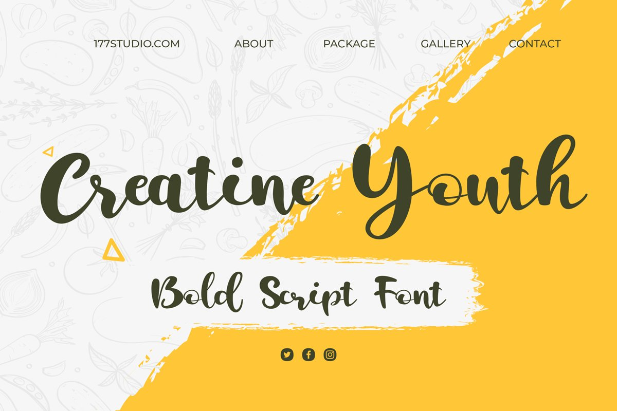 Creatine-Youth-Font