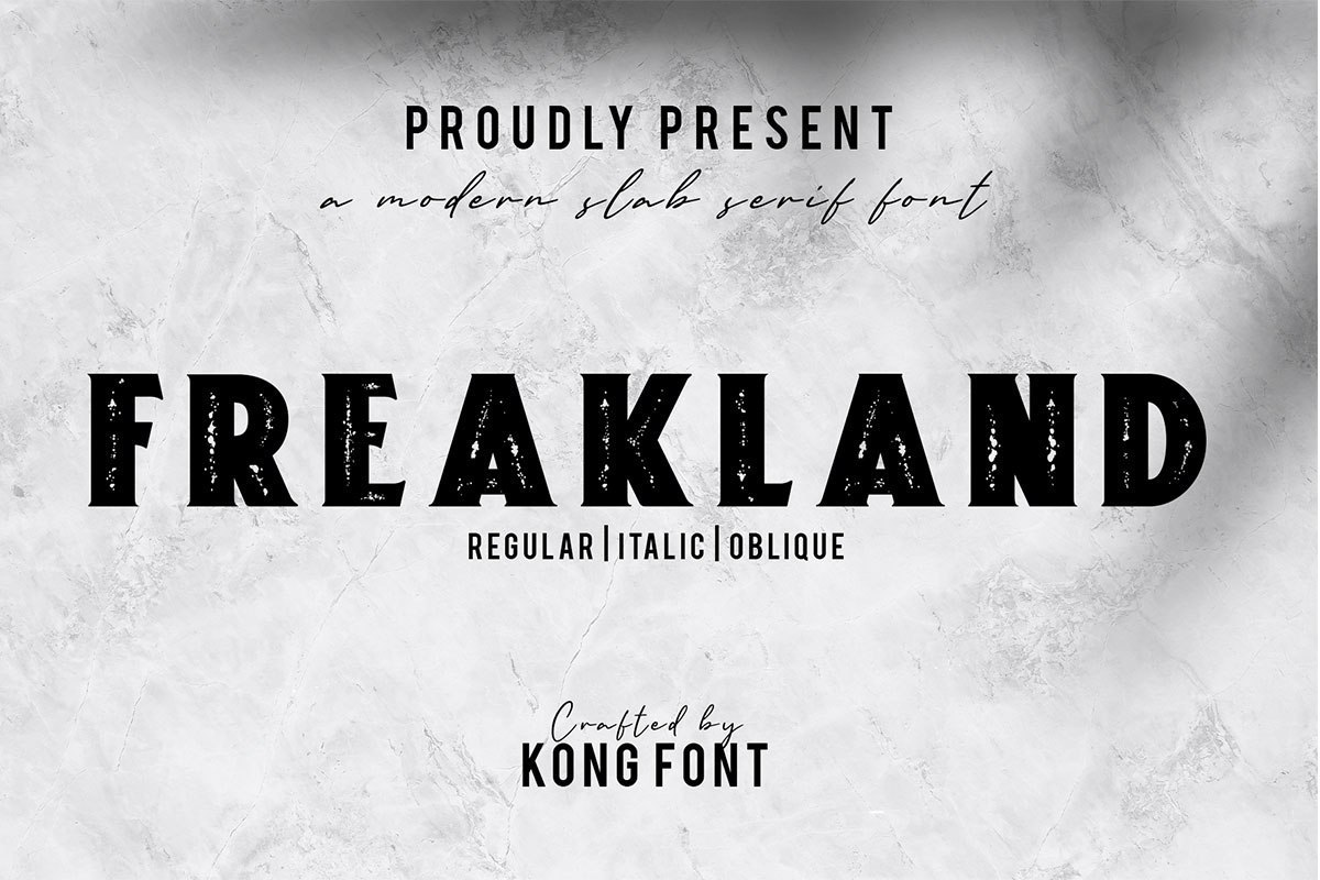Freakland-Serif-Display-Font