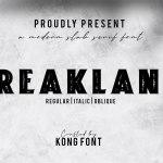 Freakland Font