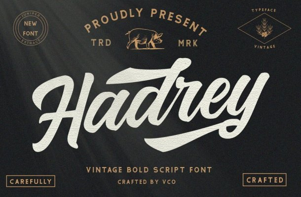 Hadrey-Font-1