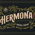 Hermona Vintage Display Font