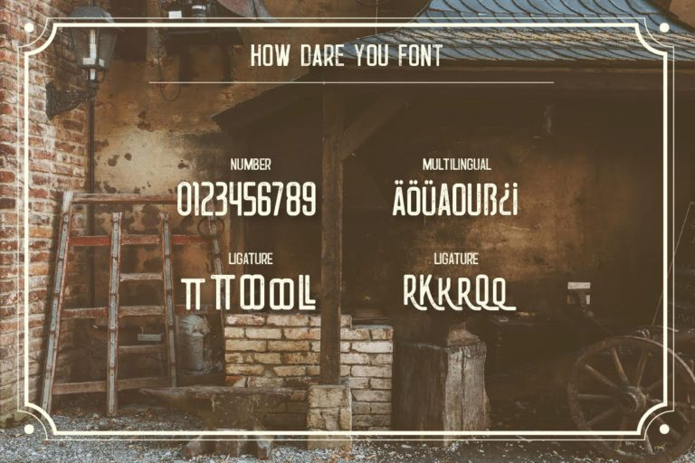 How-Dare-You-Retro-Vintage-Typeface-3