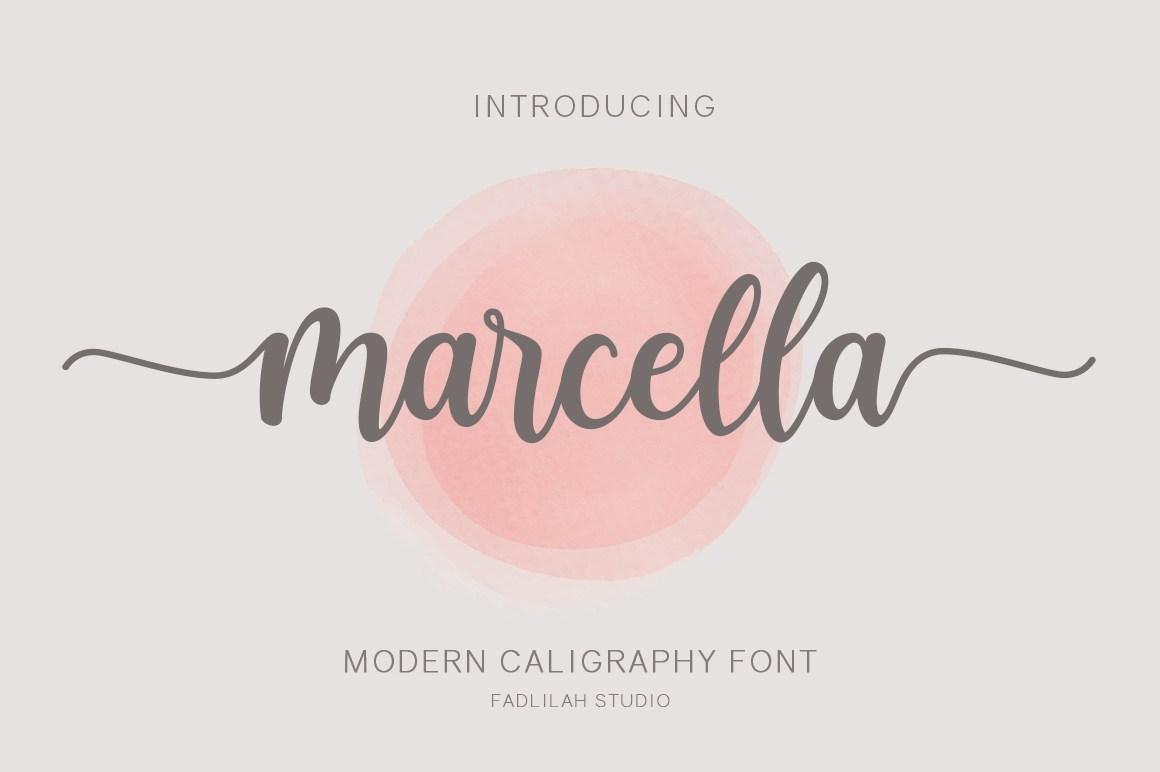 Marcella-Calligraphy-Script-Font
