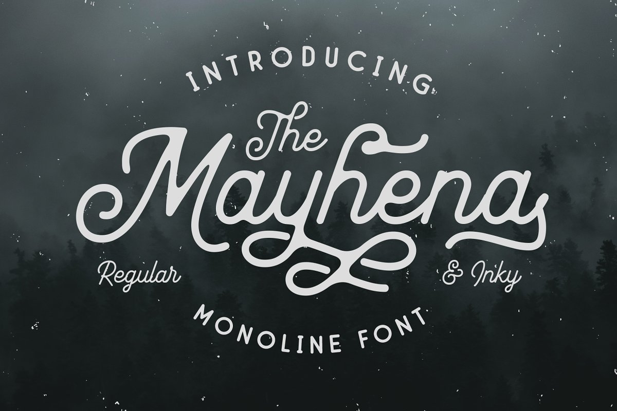 Mayhena-Monoline-Script-Font