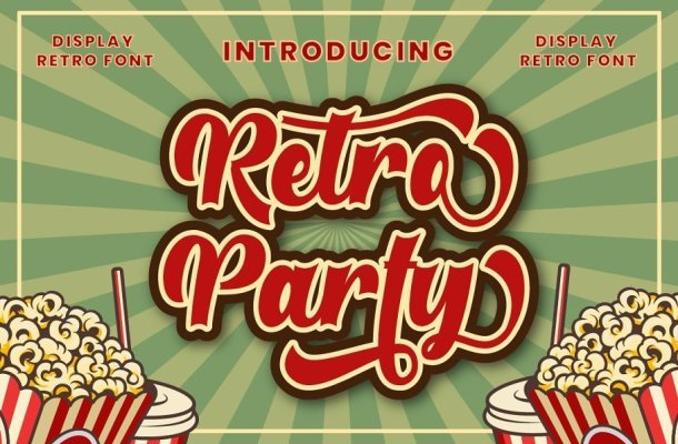 Retro Party Font