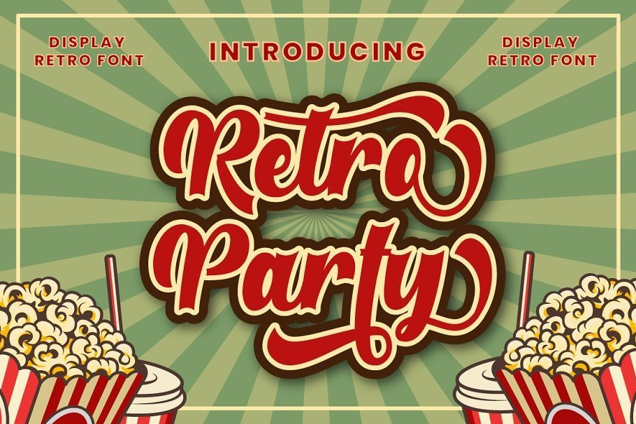 Retro-Party-Font
