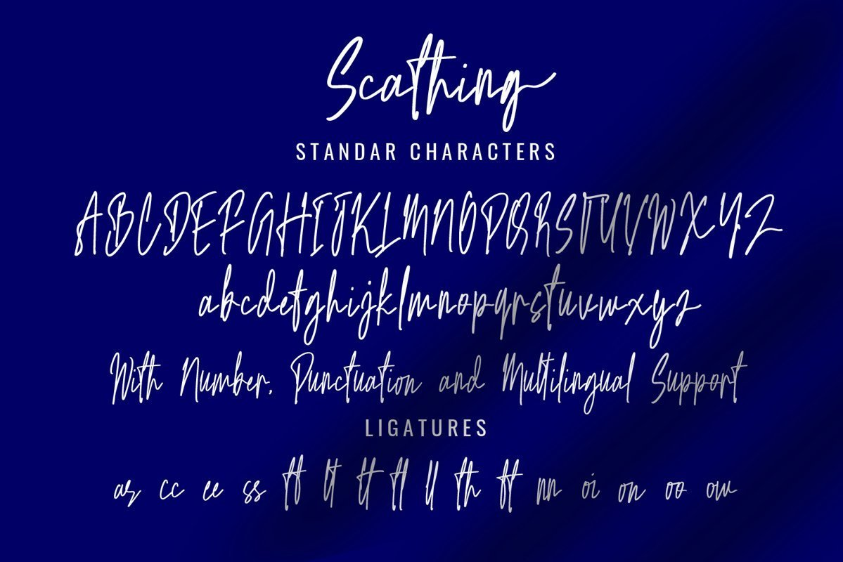 Scathing-Font-3