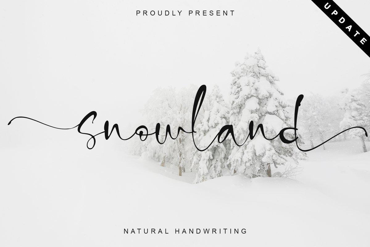 Snowland-Natural-Handwritten-Script-Font