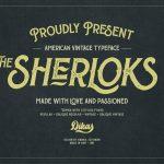 The Sherloks Typeface