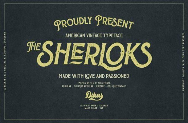 The-Sherloks-Typeface