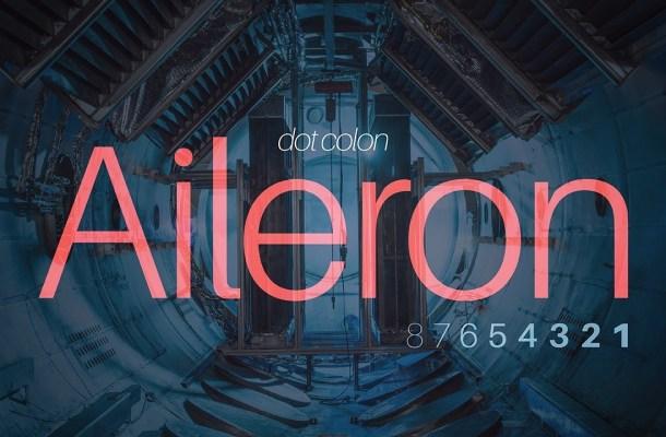 Aileron Font Family
